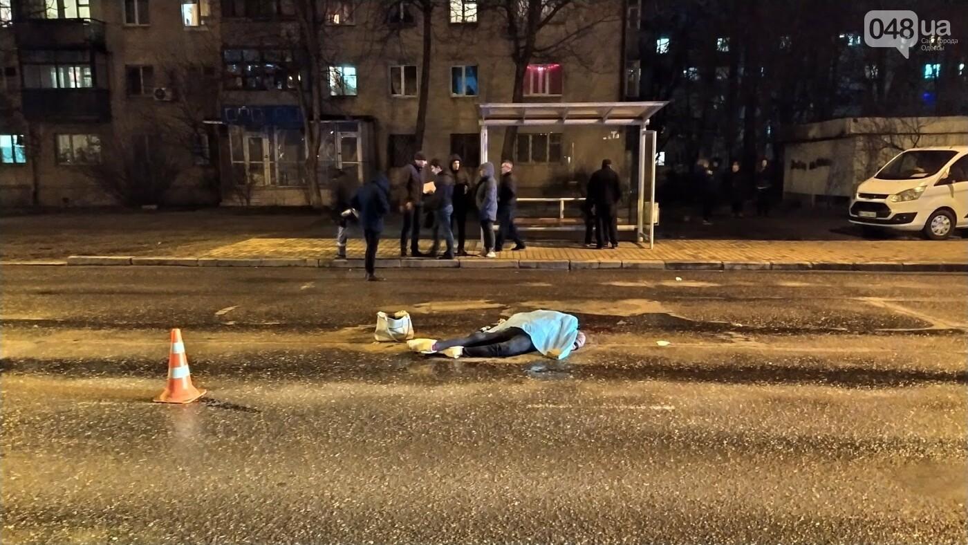 Сбил пешехода и скрылся: в Одессе произошло смертельное ДТП, - ФОТО, фото-11