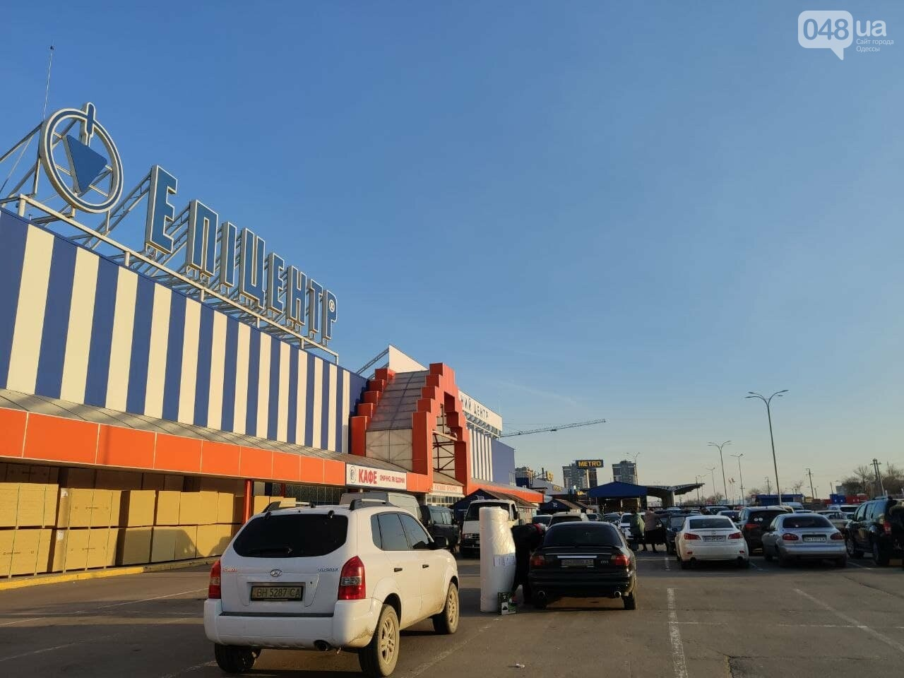 "Лента - для галочки: как в Одессе на карантине работает ""Эпицентр"", - ФОТО, фото-1"