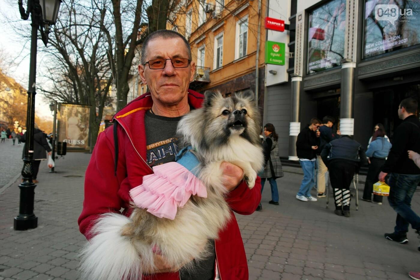 Маски без масок: 1 апреля в Одессе было весело, несмотря на карантин,- ФОТОРЕПОРТАЖ, фото-26