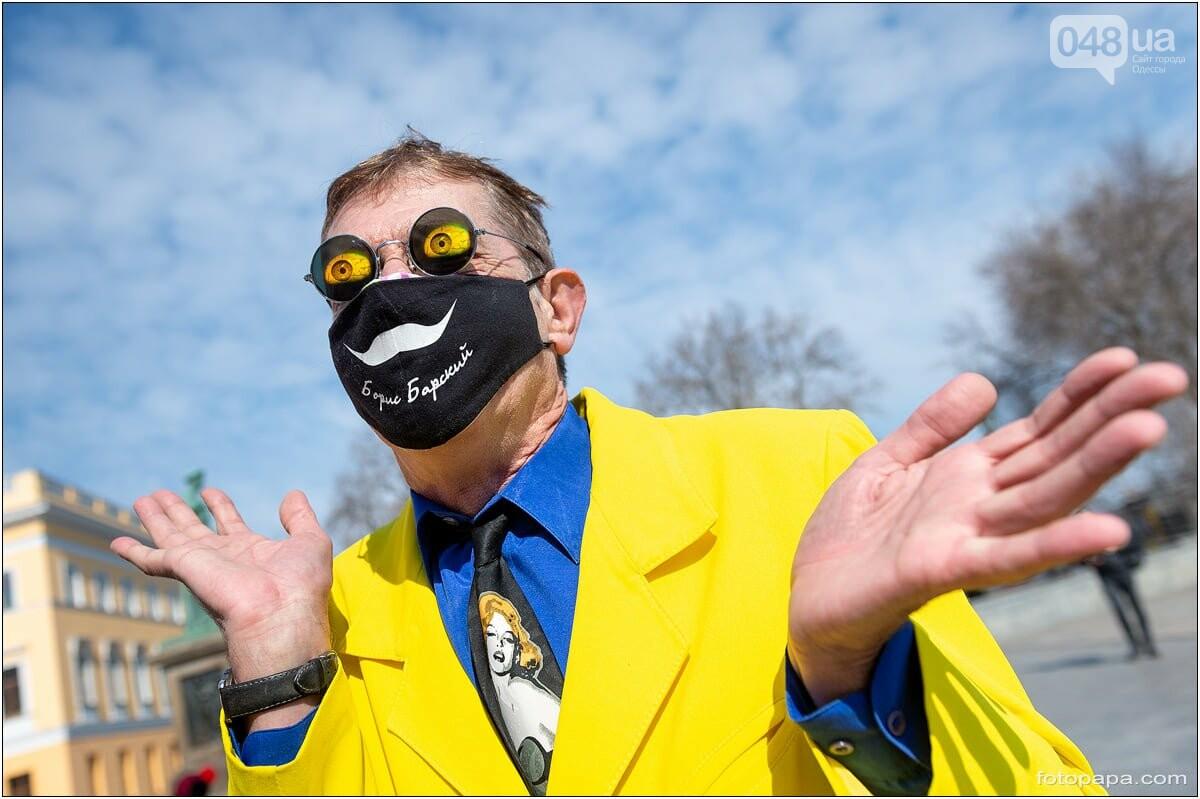 Маски без масок: 1 апреля в Одессе было весело, несмотря на карантин,- ФОТОРЕПОРТАЖ, фото-15