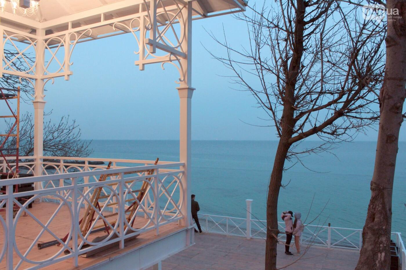 Апрель, Одесса, пляж: закат раскрасил море лазурными красками,- ФОТОПЯТНИЦА, фото-18