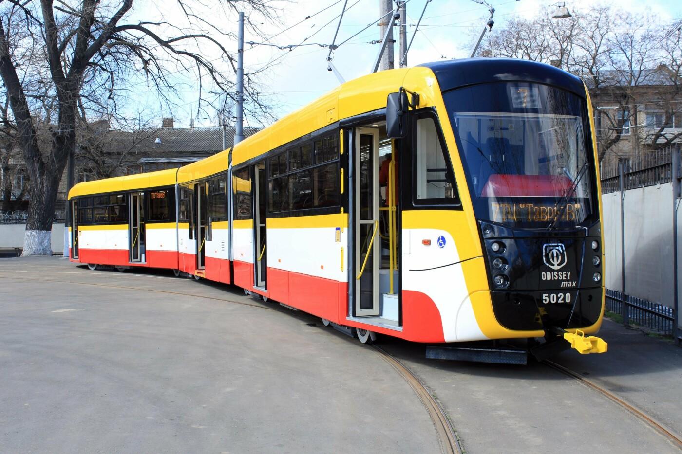 Трамвай на 62 посадочных места: в Одессе выпустили ещё один  Odissey MAX, - ФОТО, ВИДЕО, фото-5