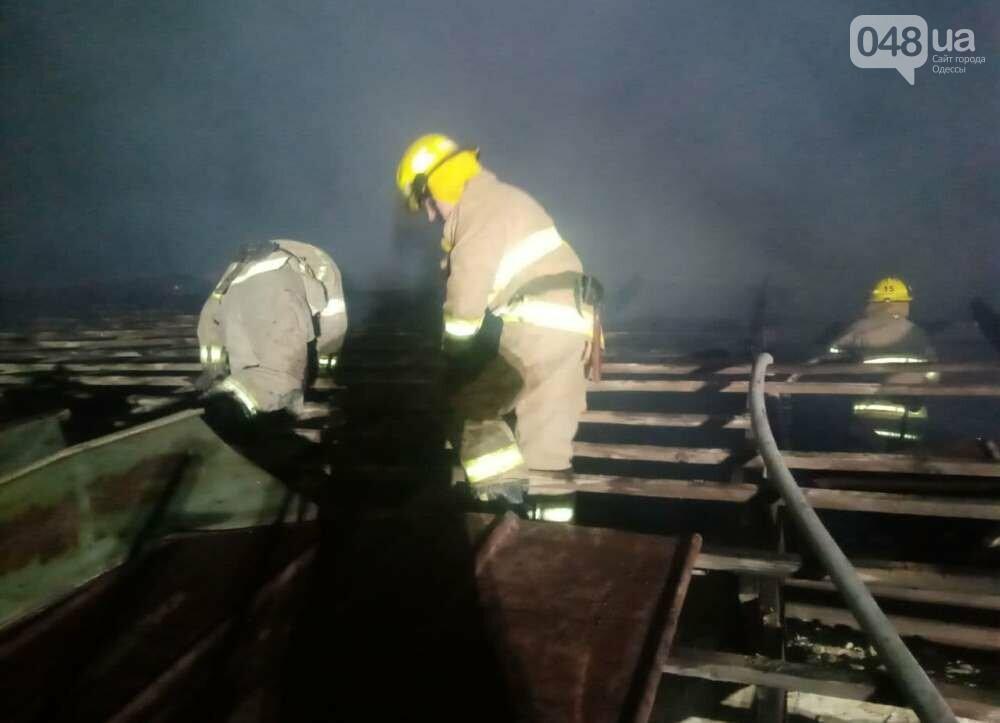 В Одесской области ночью тушили масштабный пожар, - ФОТО, фото-4