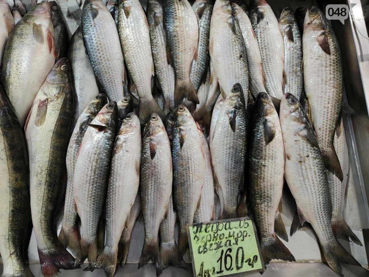 Кефаль, дунайка, рачки: рыбный четверг на одесском Привозе, - ФОТО, фото-1
