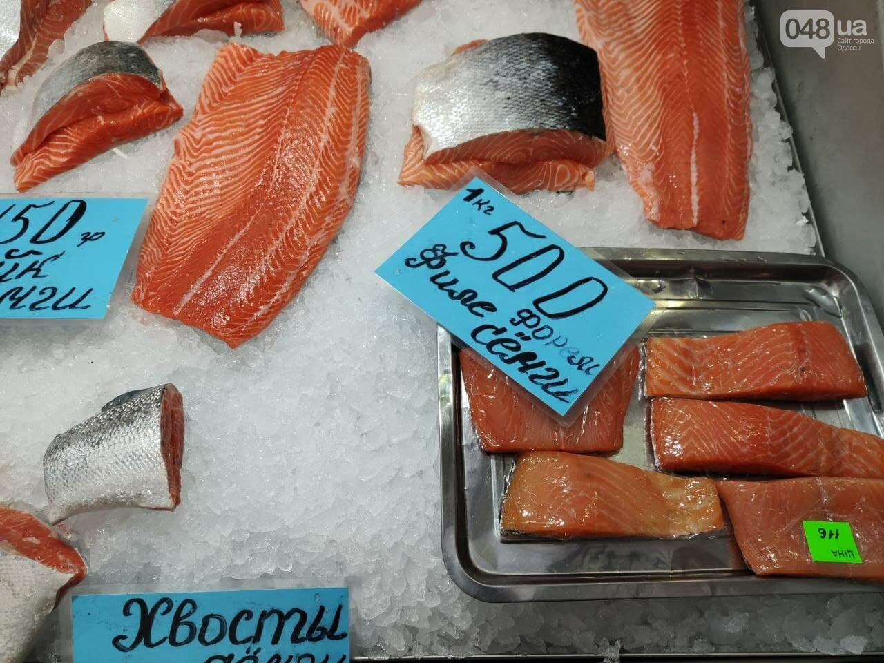 Кефаль, дунайка, рачки: рыбный четверг на одесском Привозе, - ФОТО, фото-3