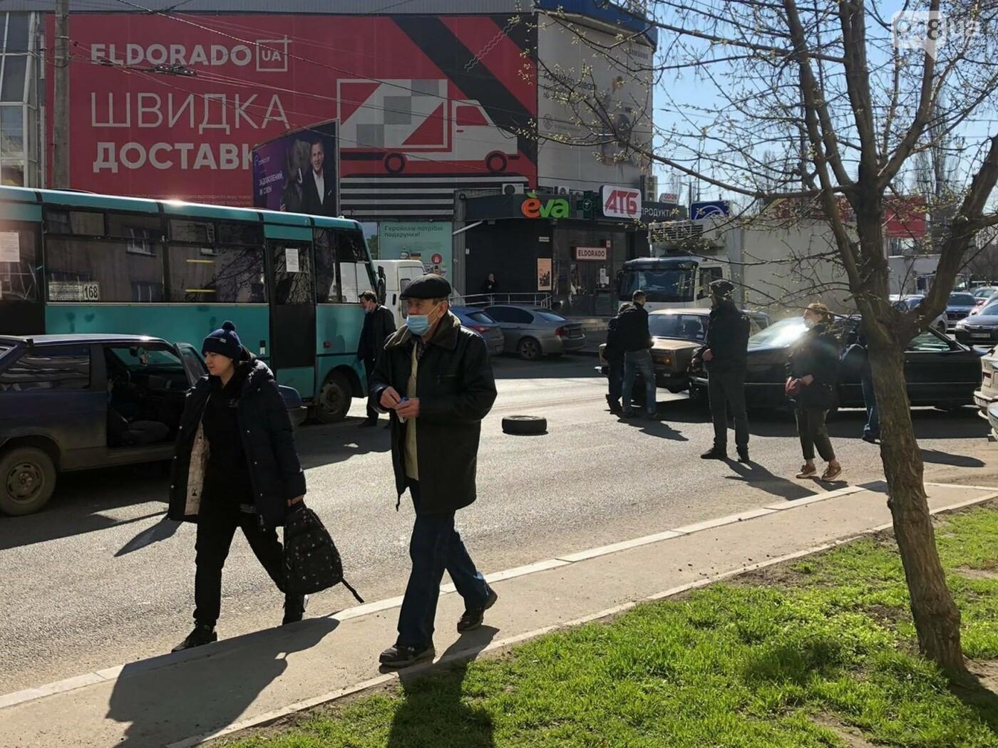 В Одессе маршрутка попала в ДТП, когда объезжала другую аварию, - ФОТО  , фото-2