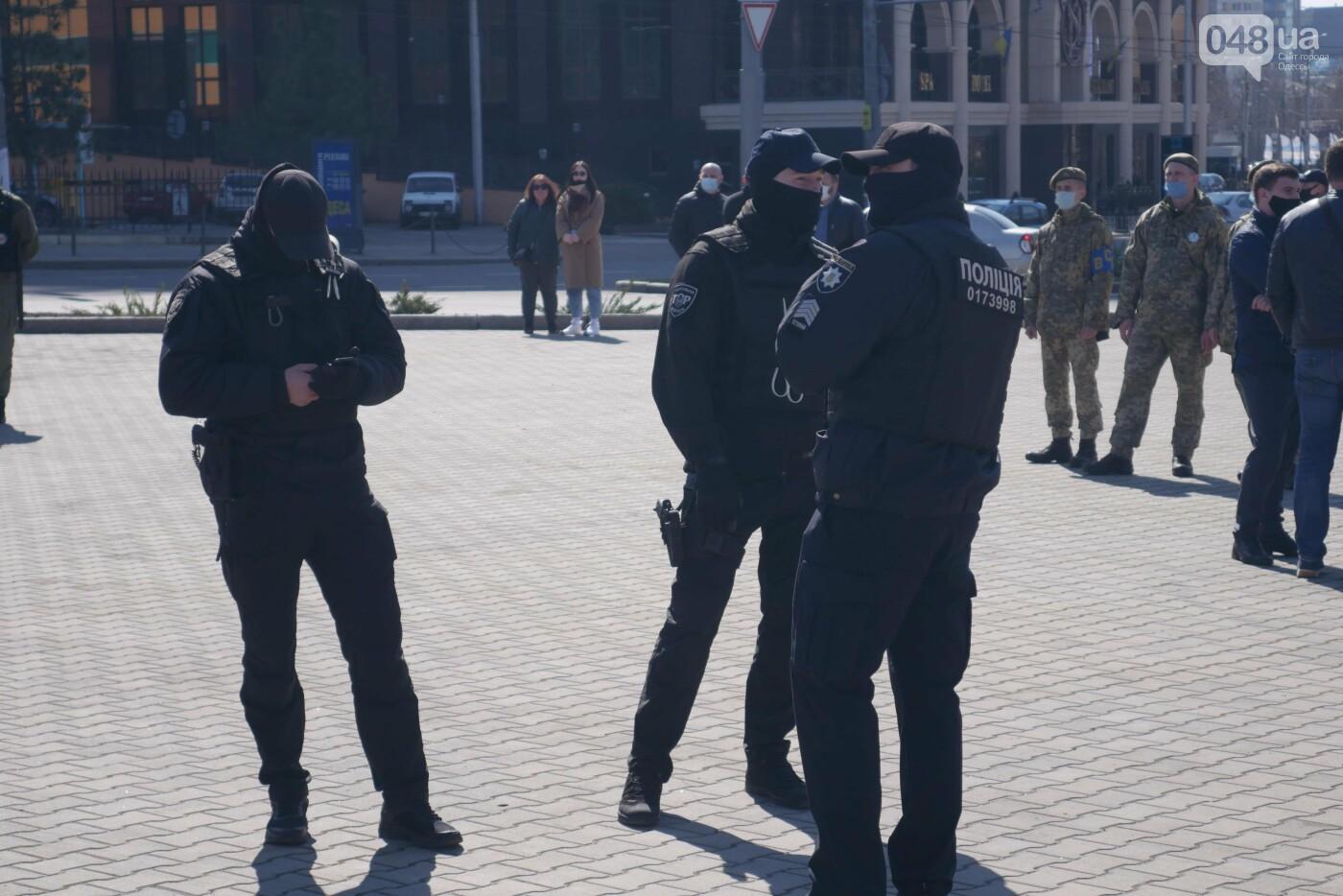 В Одессе во время акции протеста задержали троих человек, - ФОТО, ВИДЕО, фото-6