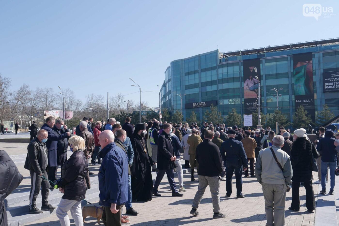 В Одессе во время акции протеста задержали троих человек, - ФОТО, ВИДЕО, фото-5