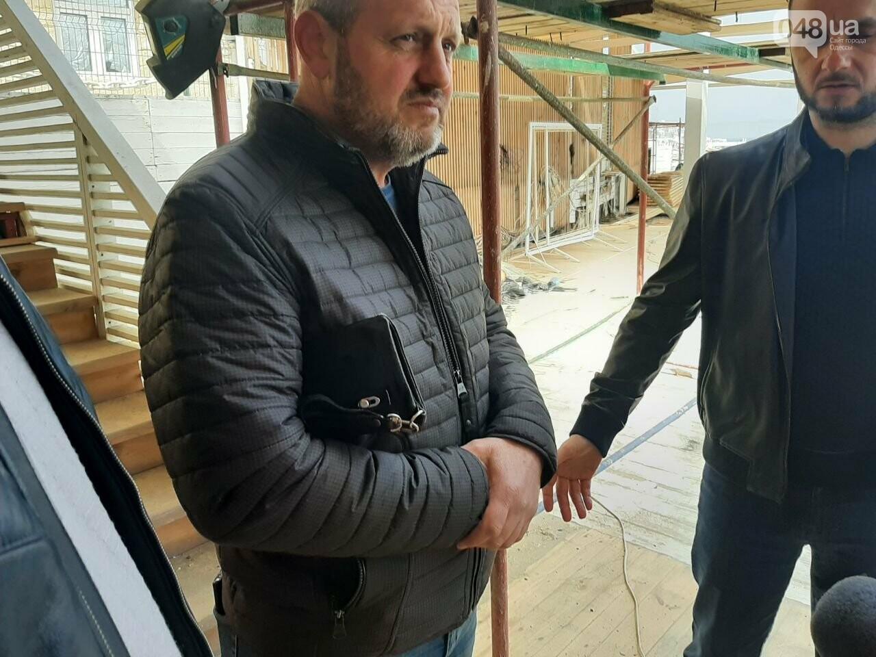 В Одессе с побережья убирают незаконные помосты, - ФОТО, СТРИМ, фото-6