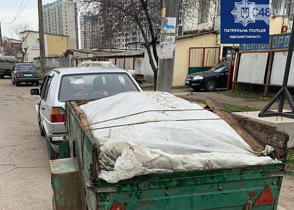 Одессита остановили за нарушение правил движения, а задержали по подозрению в воровстве, - ФОТО, фото-1