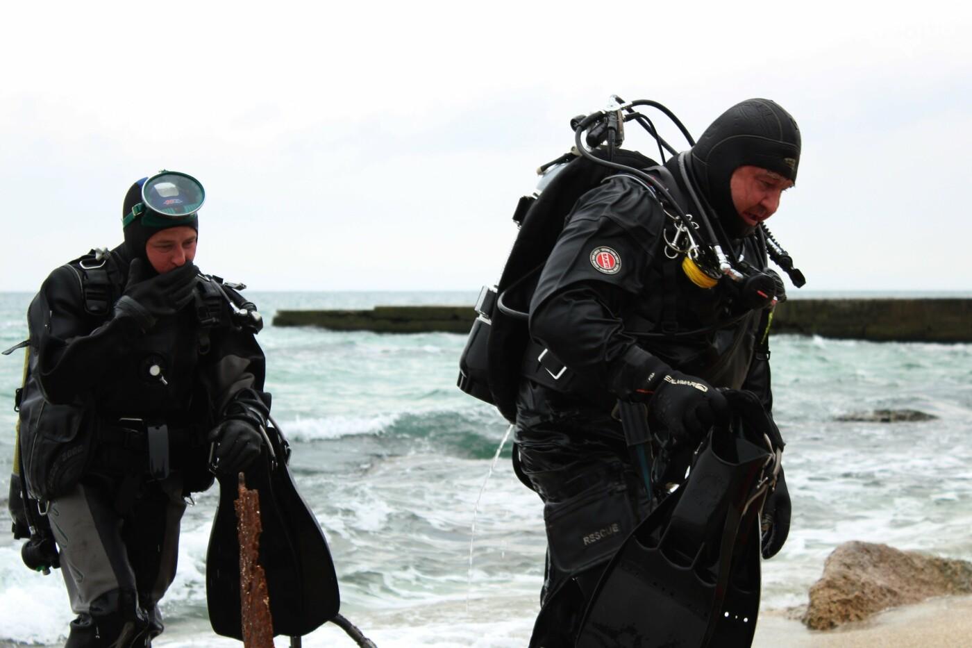 Горы метала и битое стекло: водолазы чистят дно одесских пляжей, - ФОТО, ВИДЕО , фото-6