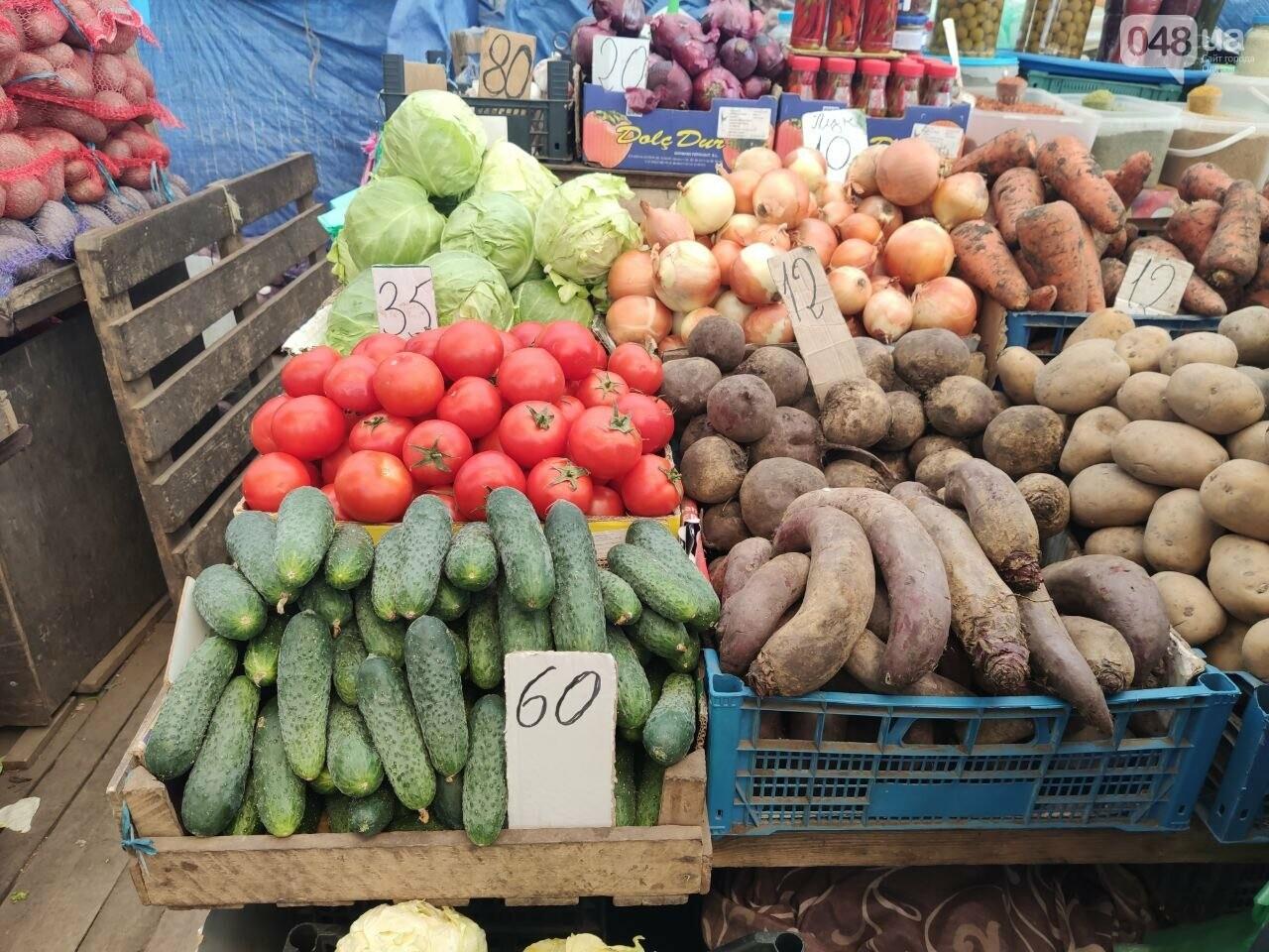 Клубника, ананас, микадо: почем на одесском Привозе перед Пасхой овощи и фрукты, - ФОТО, фото-3