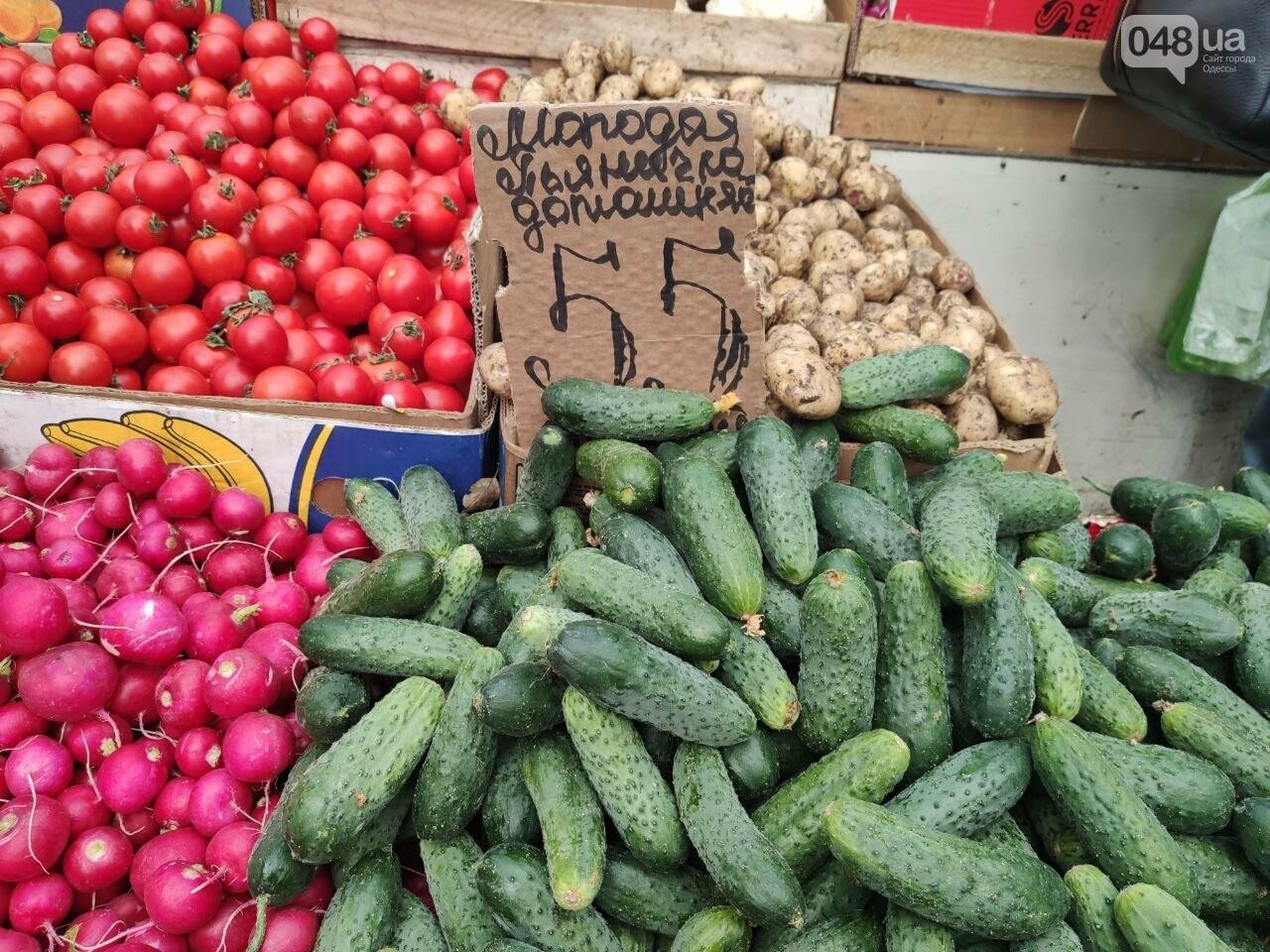 Клубника, ананас, микадо: почем на одесском Привозе перед Пасхой овощи и фрукты, - ФОТО, фото-1