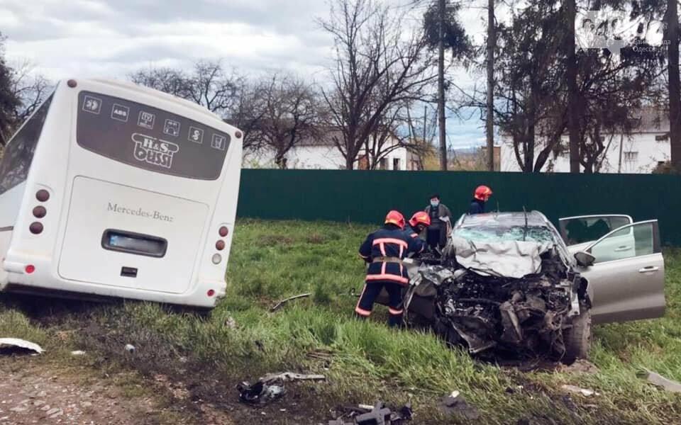 Лобовое столкновение с автобусом: двое одесситов погибли на Прикарпатье, - ФОТО, ВИДЕО , фото-2