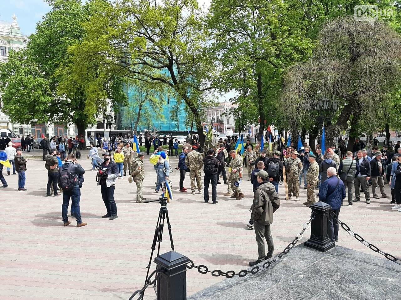 Патриоты вышли на марш в защиту Одессы, - ФОТО, ВИДЕО, фото-5