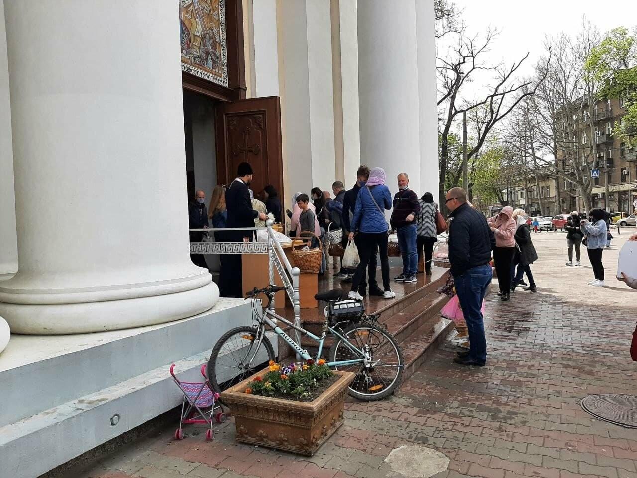 Пасха-2021: как в Одессе святят паски, - ФОТОРЕПОРТАЖ, фото-5