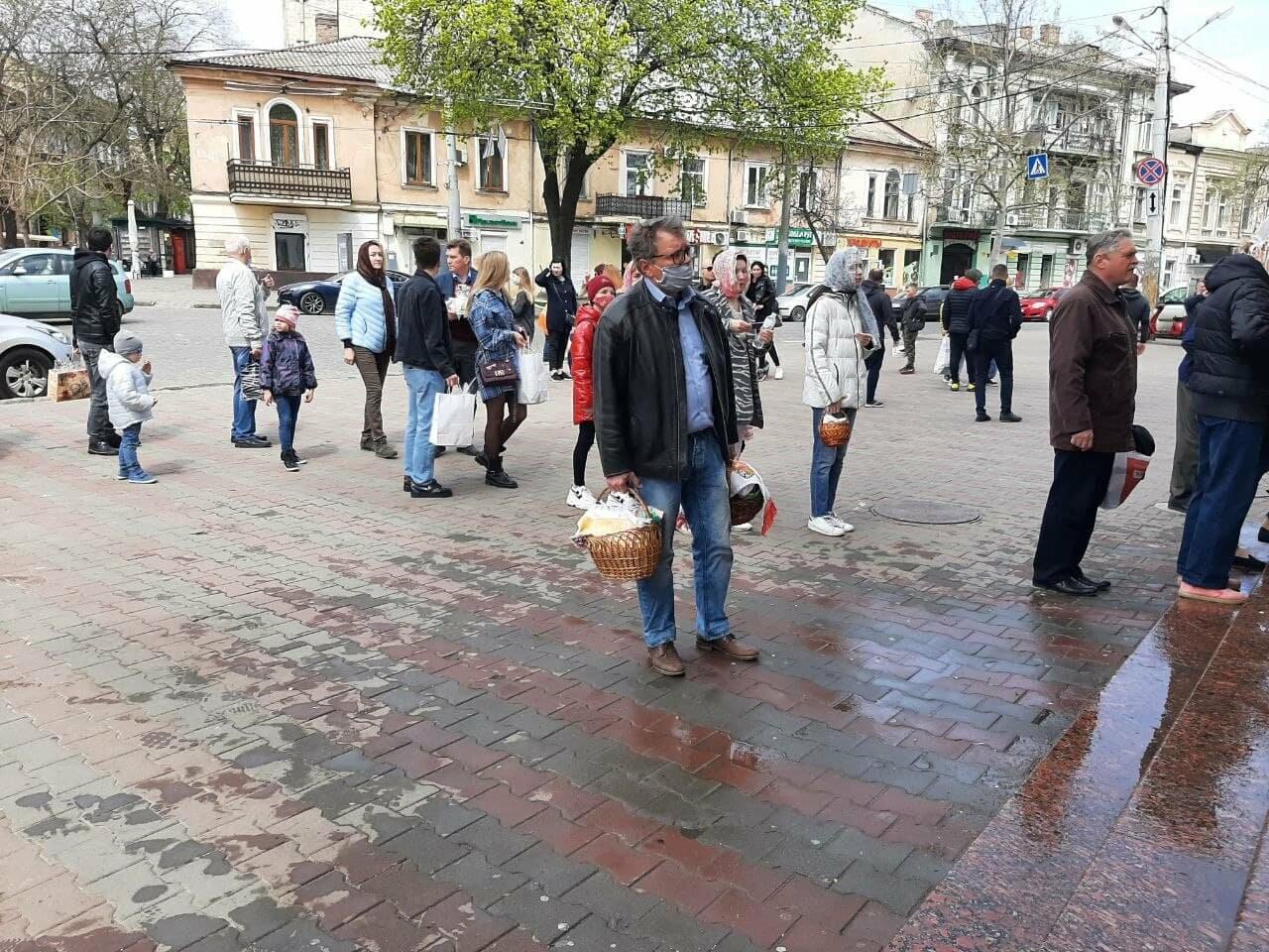 Пасха-2021: как в Одессе святят паски, - ФОТОРЕПОРТАЖ, фото-3