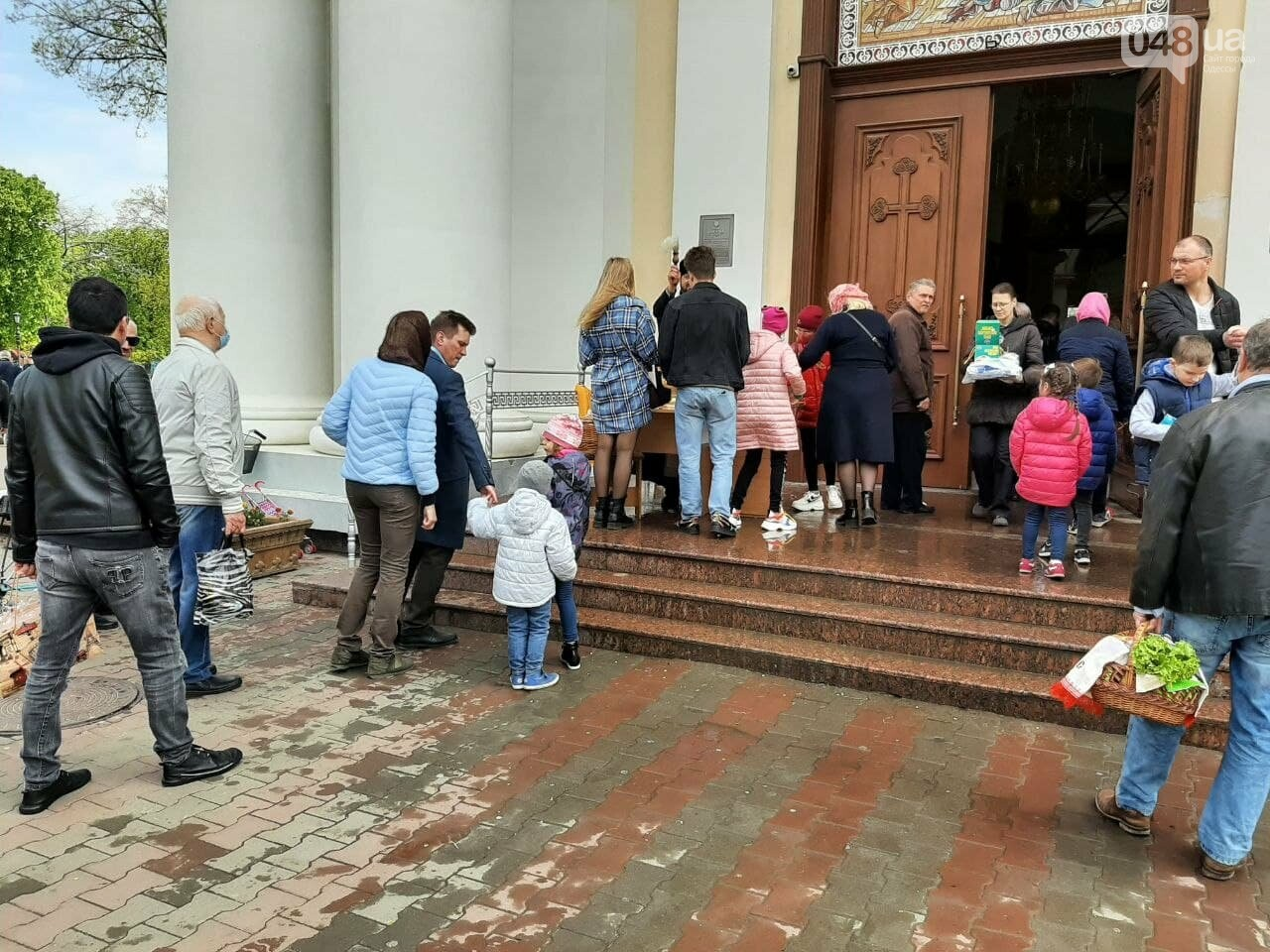 Пасха-2021: как в Одессе святят паски, - ФОТОРЕПОРТАЖ, фото-1