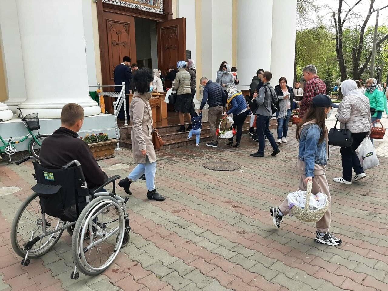 Пасха-2021: как в Одессе святят паски, - ФОТОРЕПОРТАЖ, фото-11