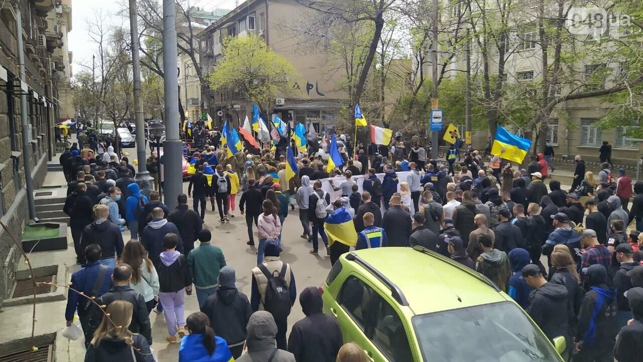 Патриоты вышли на марш в защиту Одессы, - ФОТО, ВИДЕО, фото-18