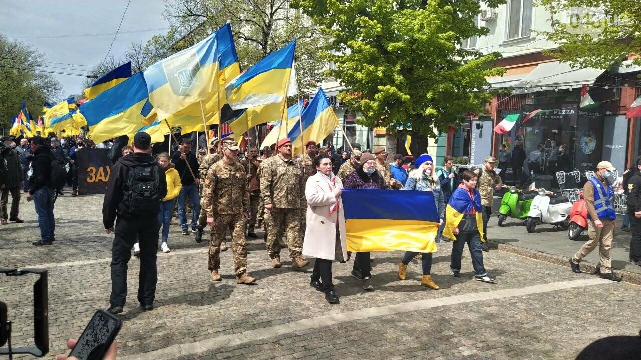 Патриоты вышли на марш в защиту Одессы, - ФОТО, ВИДЕО, фото-10