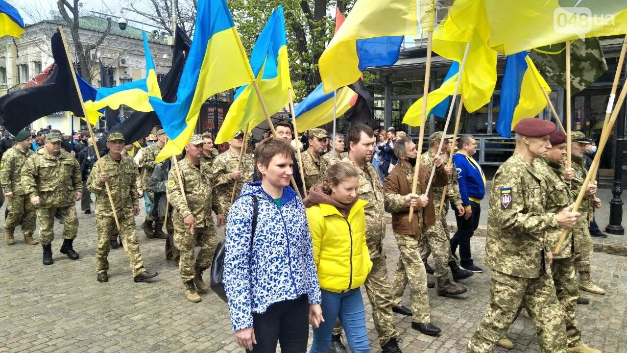 Патриоты вышли на марш в защиту Одессы, - ФОТО, ВИДЕО, фото-9