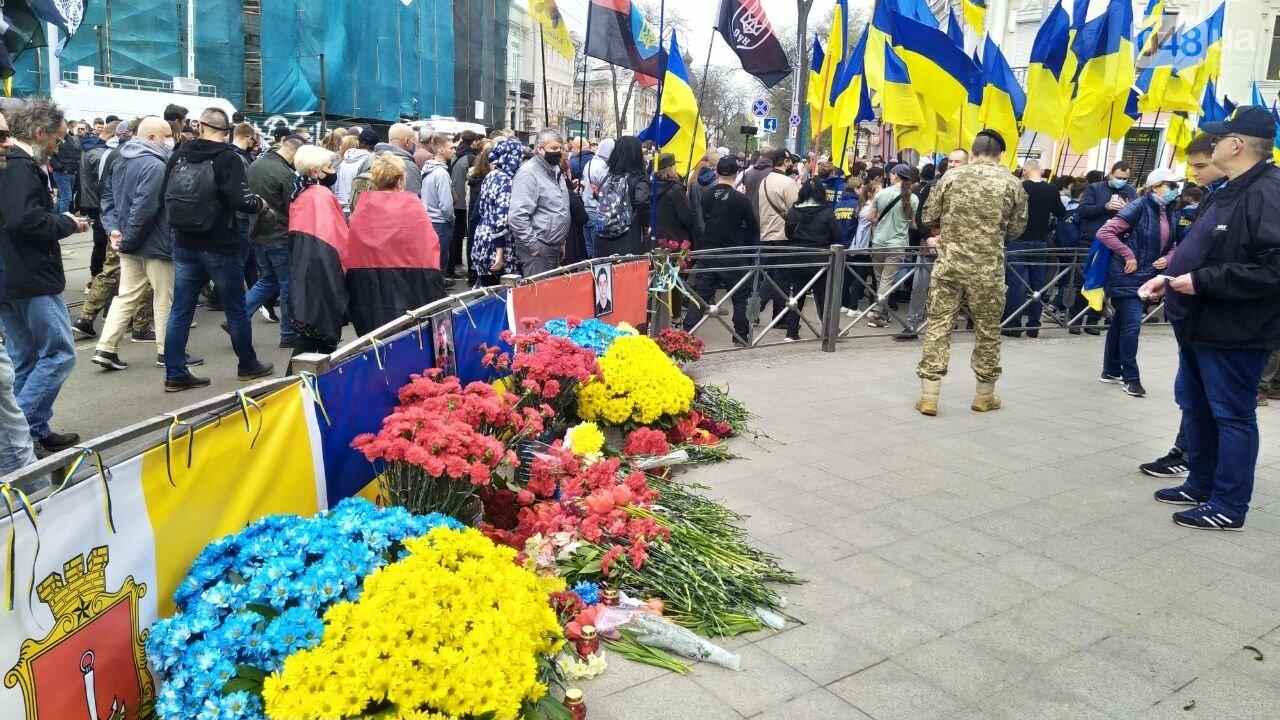 Патриоты вышли на марш в защиту Одессы, - ФОТО, ВИДЕО, фото-2