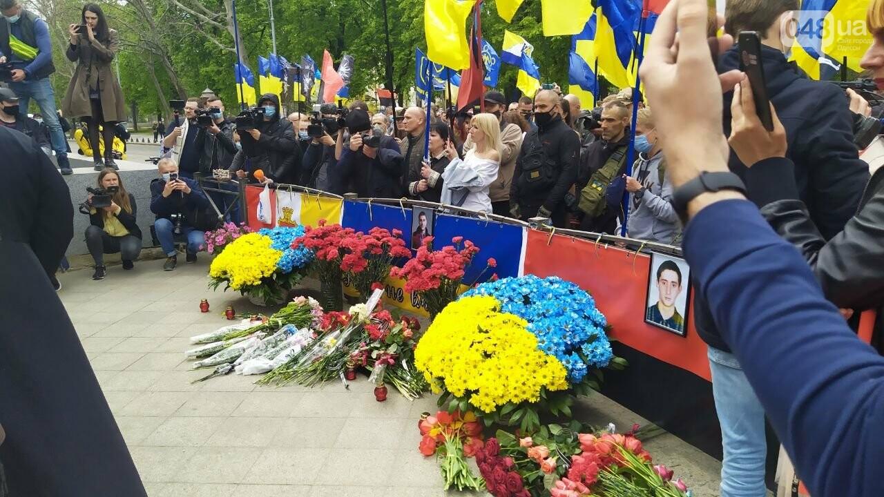 Патриоты вышли на марш в защиту Одессы, - ФОТО, ВИДЕО, фото-3