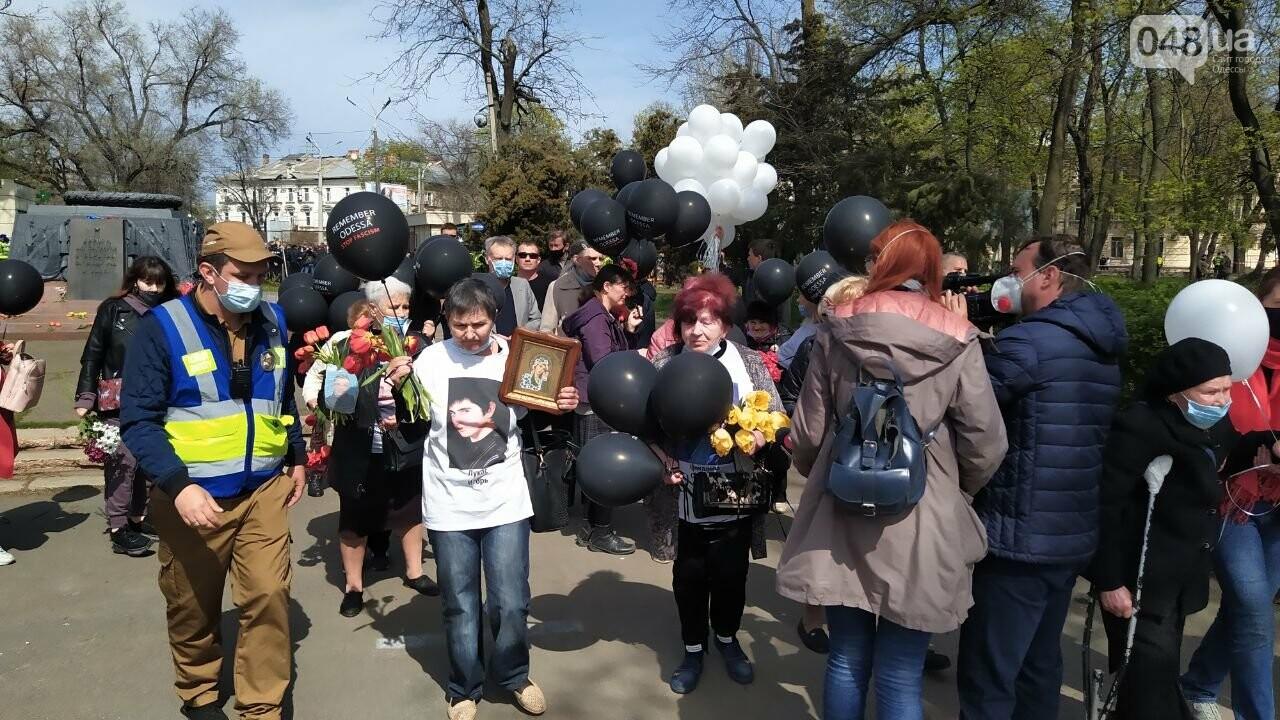 2 мая в Одессе:  как на Куликово поле чтили погибших в Доме профсоюзов, - ФОТО, фото-5