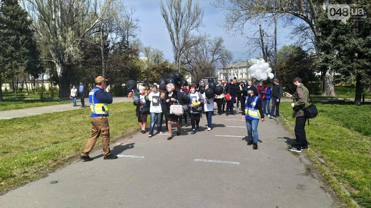 2 мая в Одессе:  как на Куликово поле чтили погибших в Доме профсоюзов, - ФОТО, фото-3