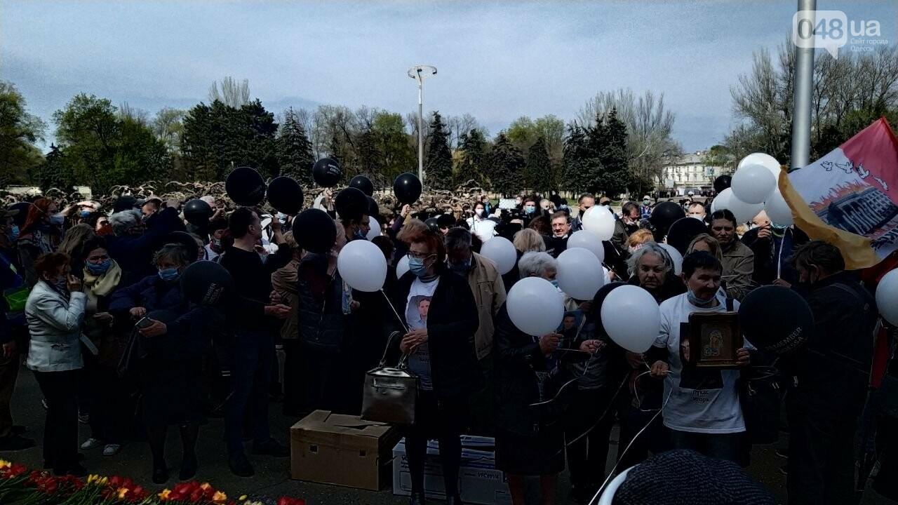 2 мая в Одессе:  как на Куликово поле чтили погибших в Доме профсоюзов, - ФОТО, фото-2