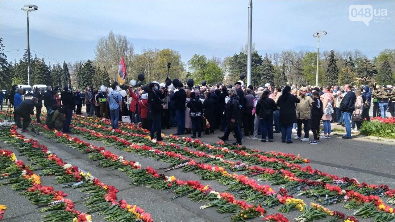 2 мая в Одессе:  как на Куликово поле чтили погибших в Доме профсоюзов, - ФОТО, фото-1