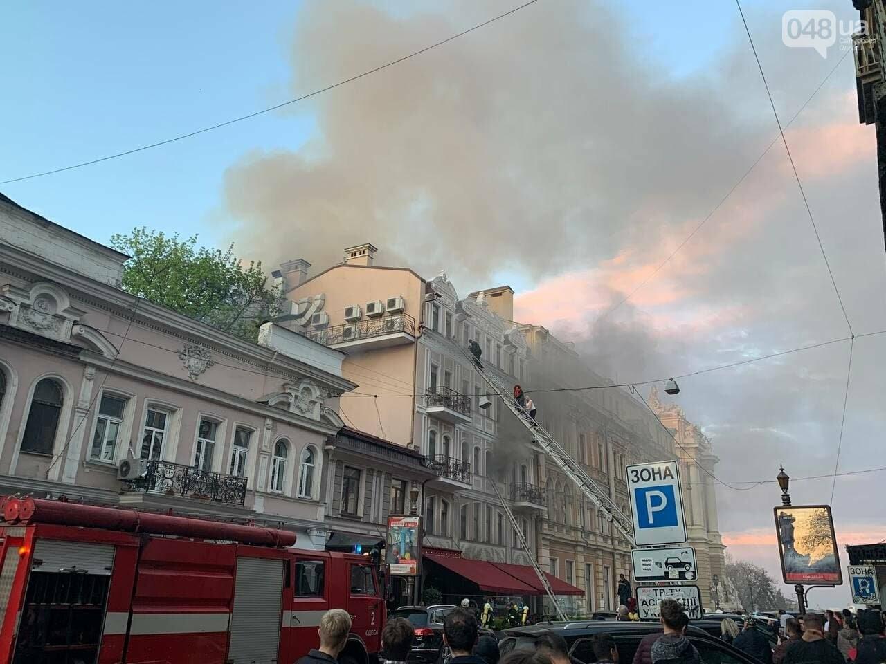 В центре Одессы пылает ресторан, - СТРИМ, ФОТО, ОБНОВЛЕНО, фото-4