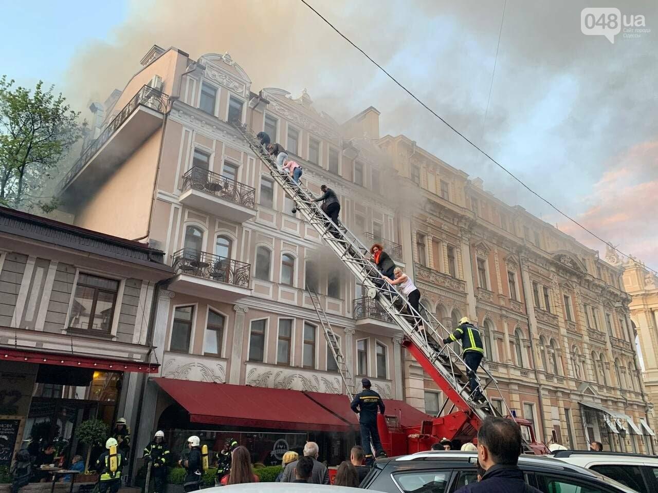 В центре Одессы пылает ресторан, - СТРИМ, ФОТО, ОБНОВЛЕНО, фото-2