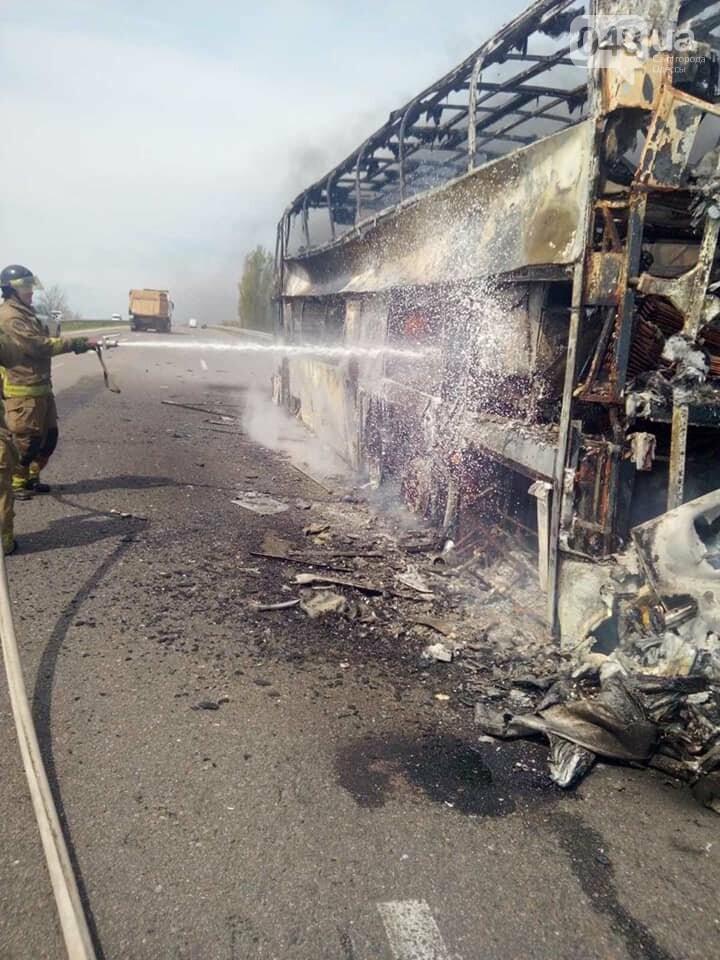 На трассе Одесса-Киев горит пассажирский автобус,- ФОТО, ВИДЕО, ДОПОЛНЕНО, фото-2