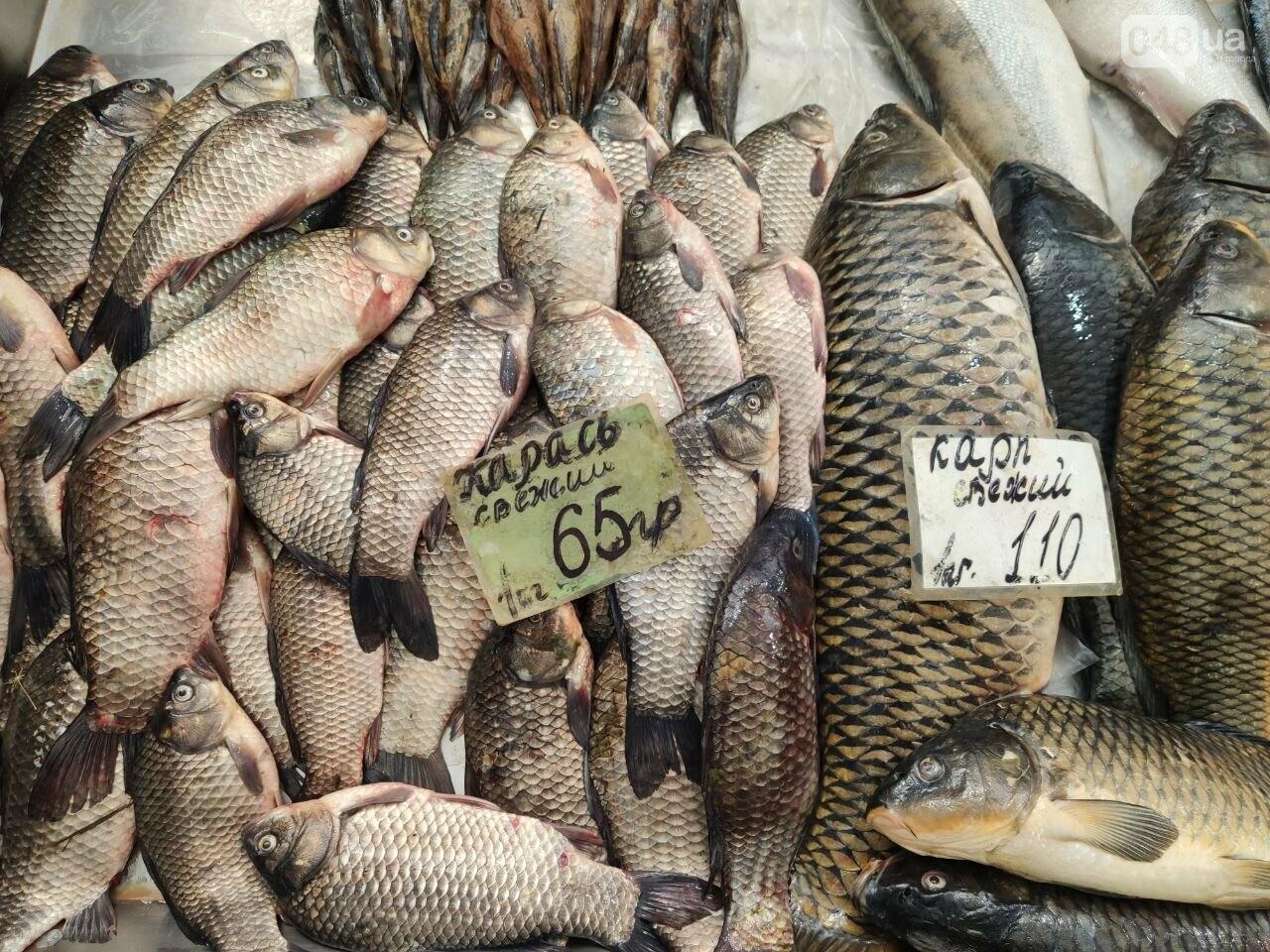 Осетр, мидии, хамса: рыбный четверг на одесском Привозе, - ФОТО, фото-2