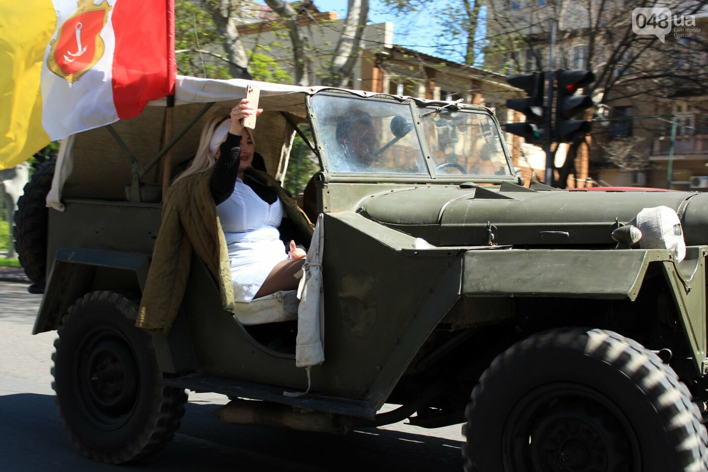 "В Одессе прошёл ""Победный"" авто-мотопробег, - ФОТО, ВИДЕО , фото-7"