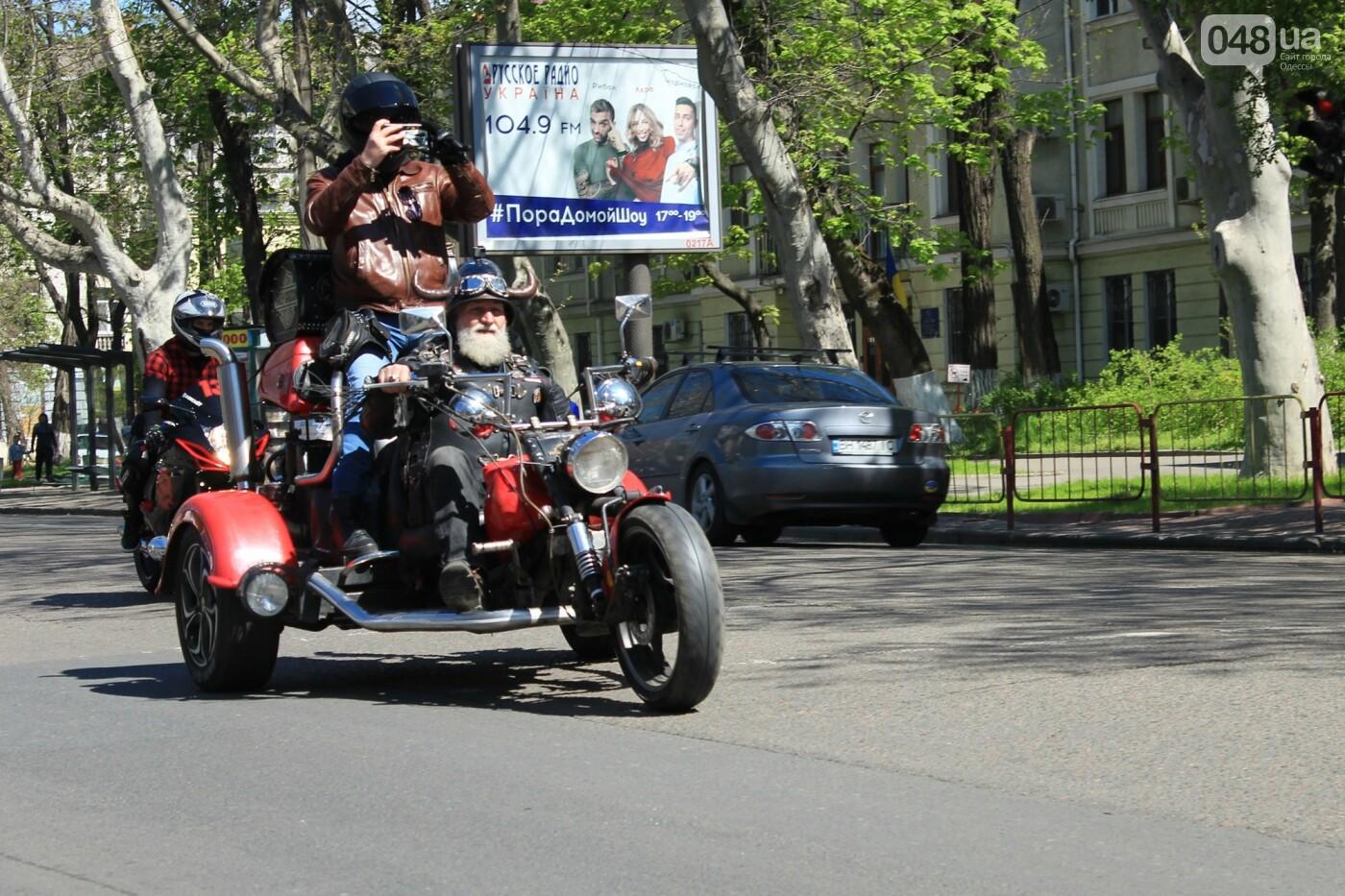 "В Одессе прошёл ""Победный"" авто-мотопробег, - ФОТО, ВИДЕО , фото-16"