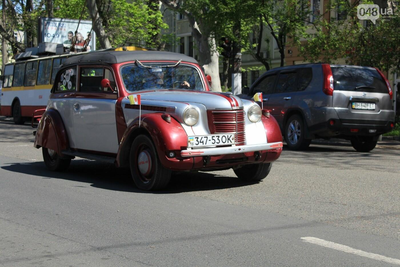 "В Одессе прошёл ""Победный"" авто-мотопробег, - ФОТО, ВИДЕО , фото-18"