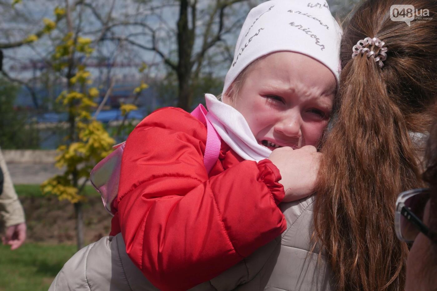 9 мая в Одессе: плевались, дрались и плакали, - ФОТО, ВИДЕО, фото-37