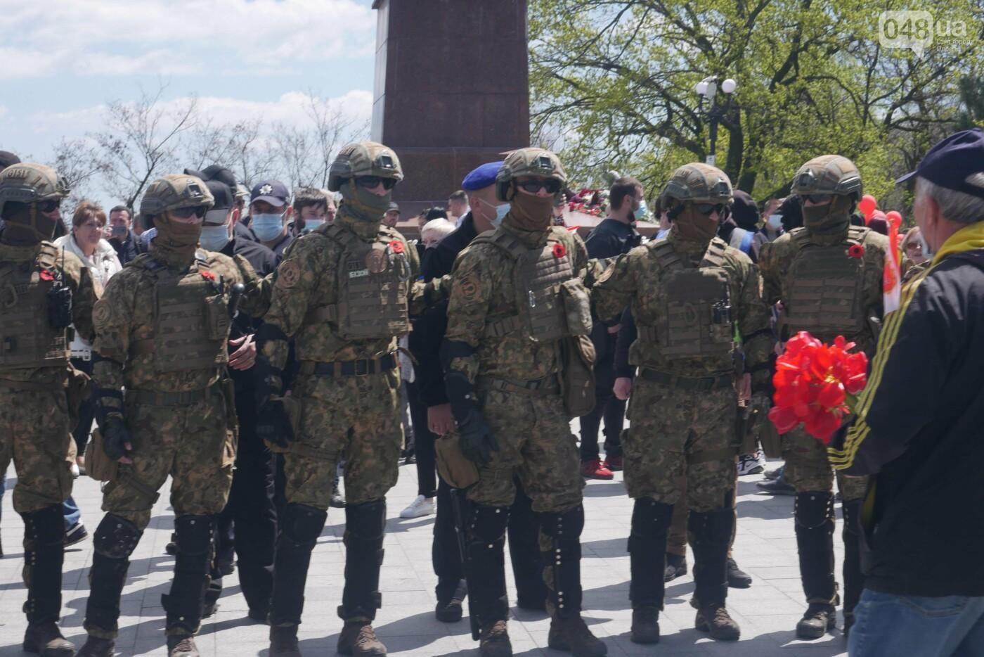 9 мая в Одессе: плевались, дрались и плакали, - ФОТО, ВИДЕО, фото-31
