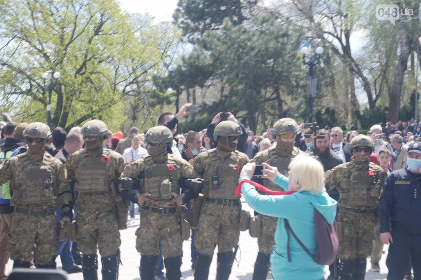 9 мая в Одессе: плевались, дрались и плакали, - ФОТО, ВИДЕО, фото-32