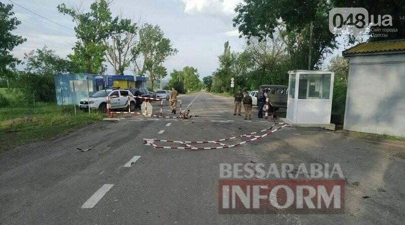 Пьяный сотрудник Измаильского отдела полиции разнёс пограничный пункт пропуска в Болградском районе,- ФОТО, фото-3