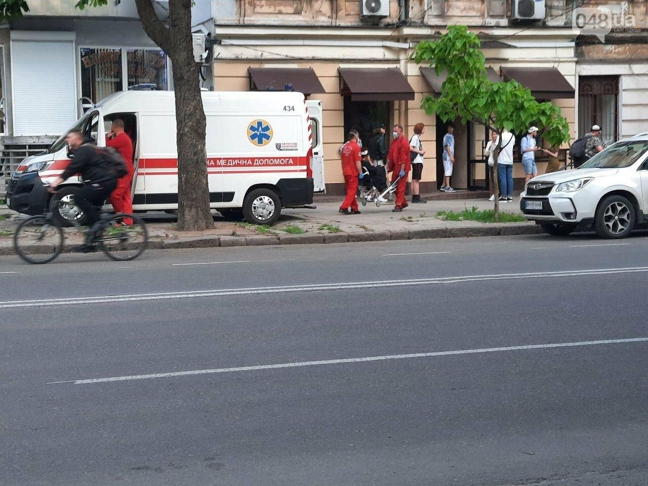 Разбила голову: в центре Одессы девушка упала с электросамоката, - ФОТО, фото-6
