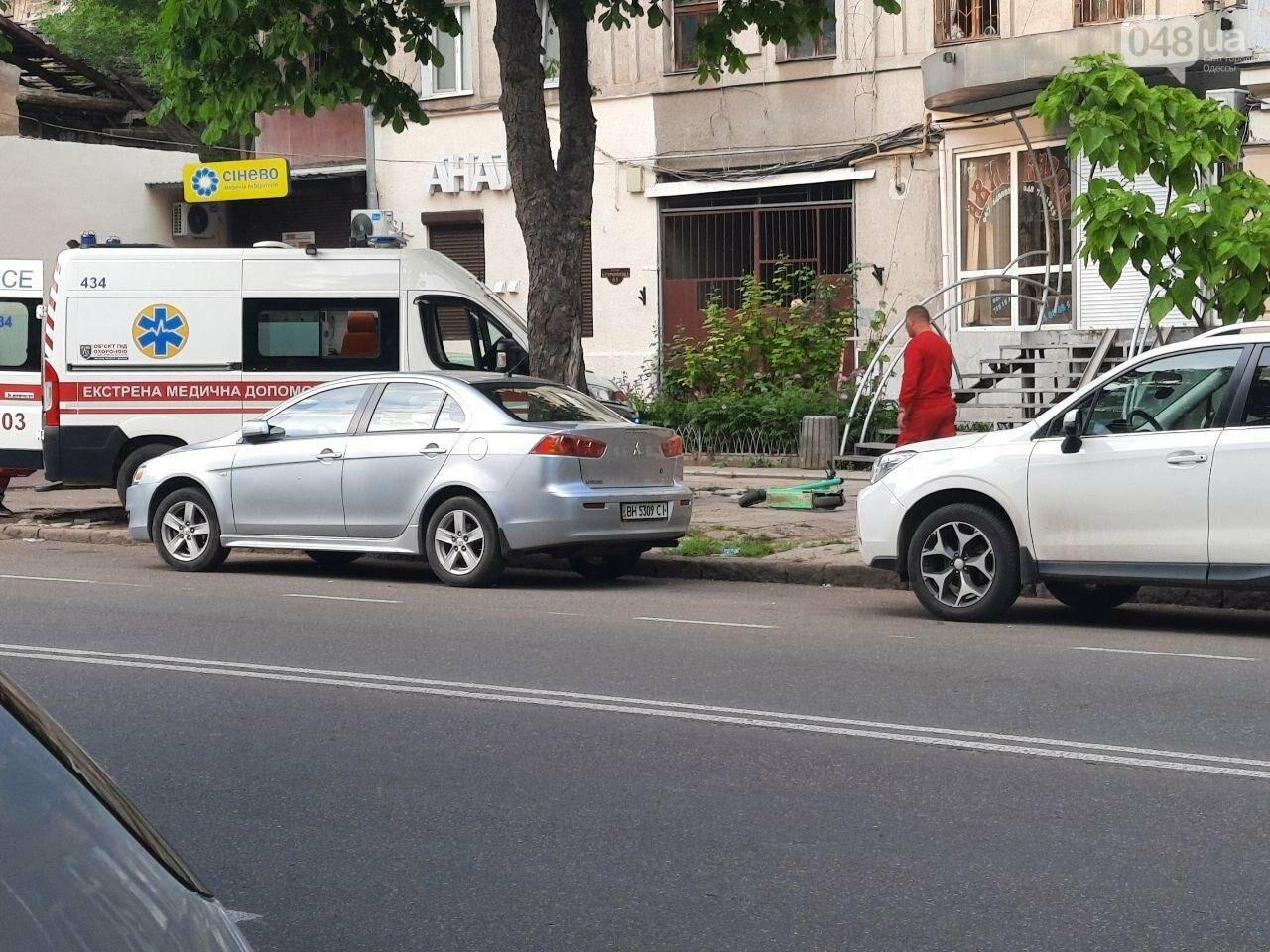 Разбила голову: в центре Одессы девушка упала с электросамоката, - ФОТО, фото-3