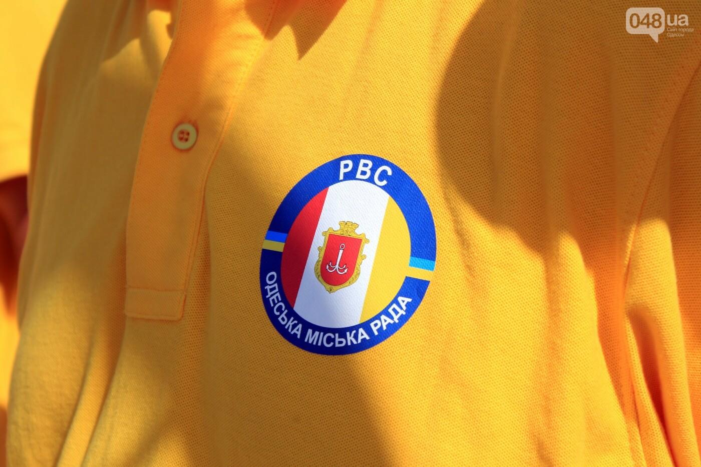 Школьники спасали утопающих: на Ланжероне в Одессе провели учения, - ФОТО, ВИДЕО , фото-24