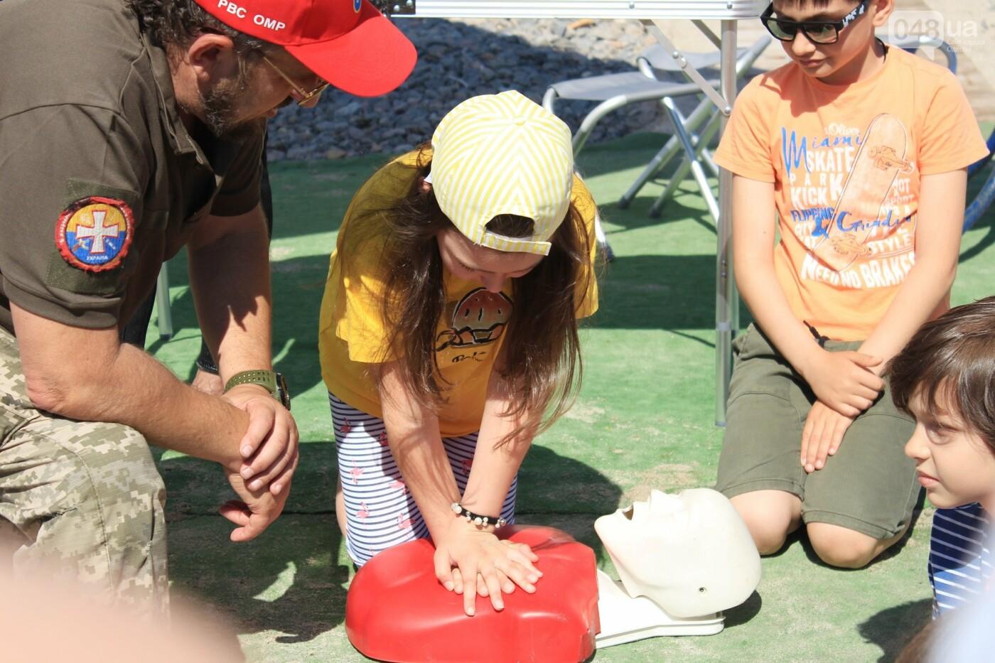 Школьники спасали утопающих: на Ланжероне в Одессе провели учения, - ФОТО, ВИДЕО , фото-3
