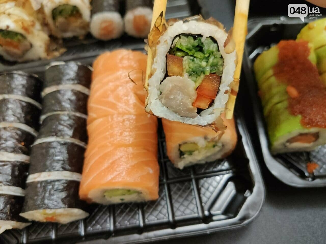 "Одесса с изнанки: проверяем доставку суши ""966"" в Одессе,- ФОТО, фото-1"