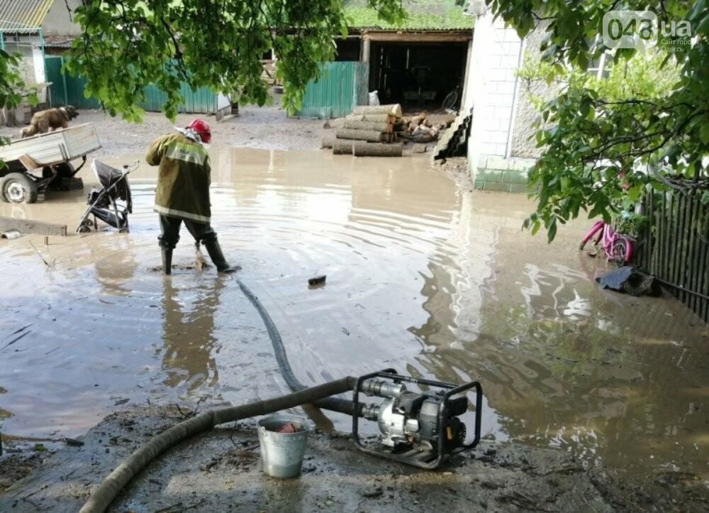 Дворы ушли под воду: в Одесской области дождевой водой затопило село, - ФОТО, фото-3