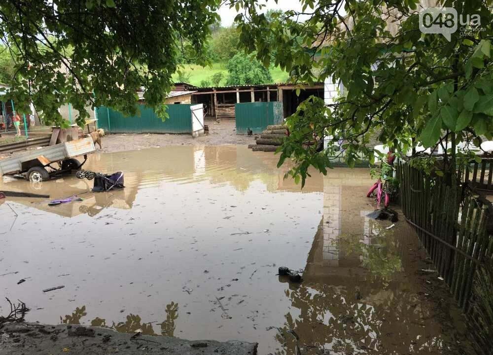 Дворы ушли под воду: в Одесской области дождевой водой затопило село, - ФОТО, фото-1
